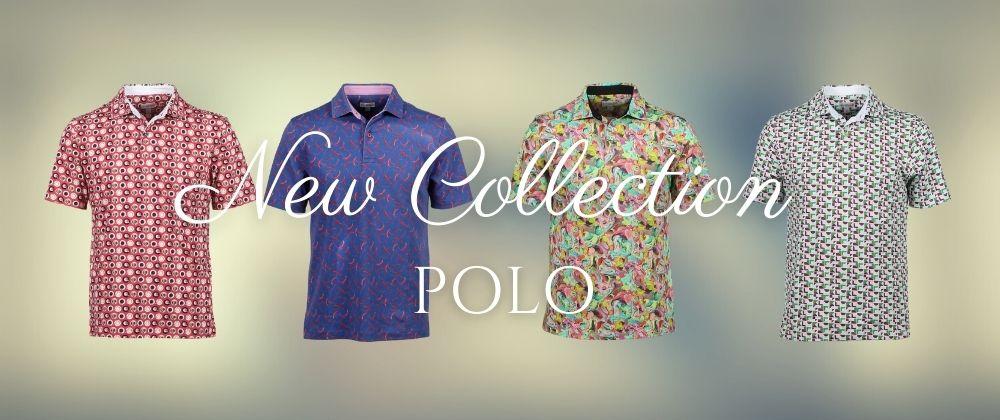 パリの柄シャツ専門店コトンドゥ/CotonDoux ポロシャツ