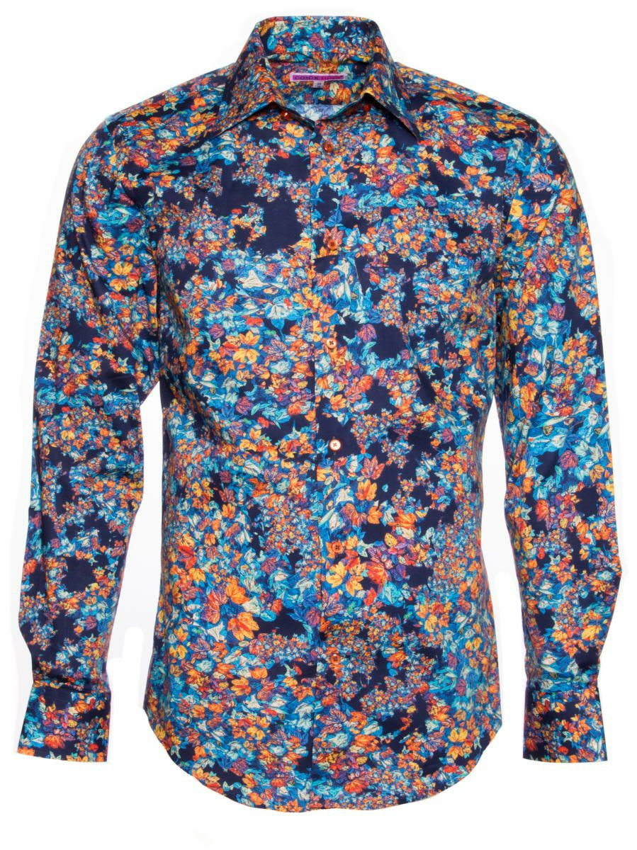 柄シャツ オシャレ 花柄 メンズ|パリのシャツブランド・コトンドゥ/CotonDoux