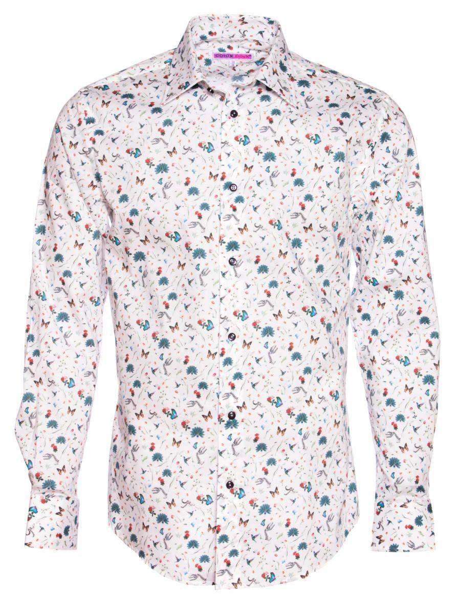 柄シャツ おしゃれ メンズ 花柄|パリのシャツブランド・コトンドゥ/CotonDoux